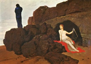Odysseus with Calypso