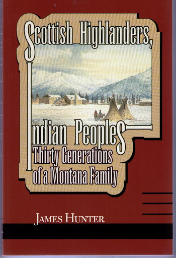 book cover: Scottish Highlanders; Indian Peoples