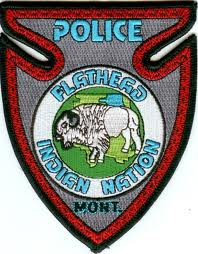 Flathead Nation police patch