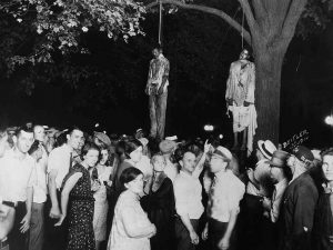 The mobs posing with their victims after lynchings do not seem aware that they are engaged in evil. They seem proud of themselves. Most people need to see themselves as acting righteously before they engage in evil. In fact, destroying evil is the most common rationale for engaging in evil. Unfortunately, since evil remains nonetheless real, a bland nonjudgmentalism isn't a strong enough defense against it.